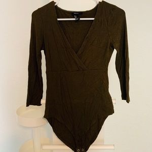 Olive Green One-piece